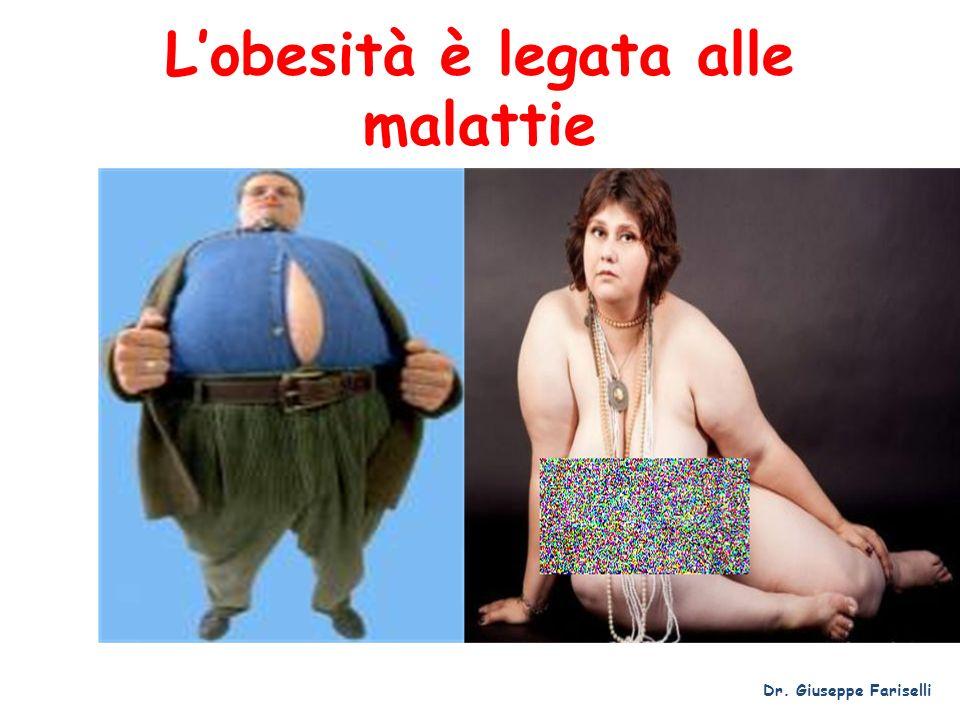 L'obesità è legata alle malattie