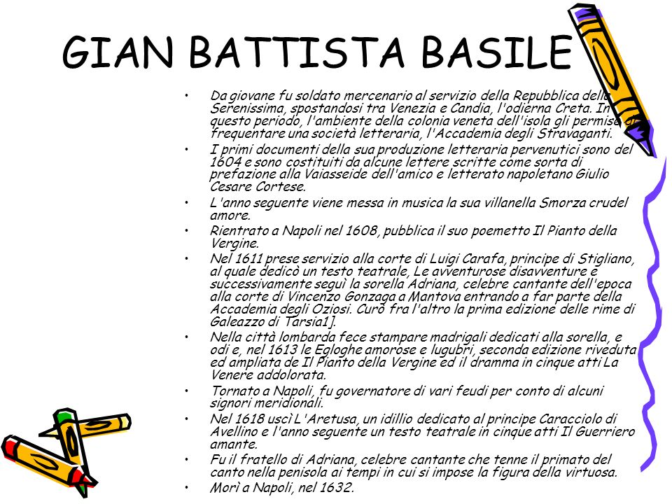 GIAN BATTISTA BASILE