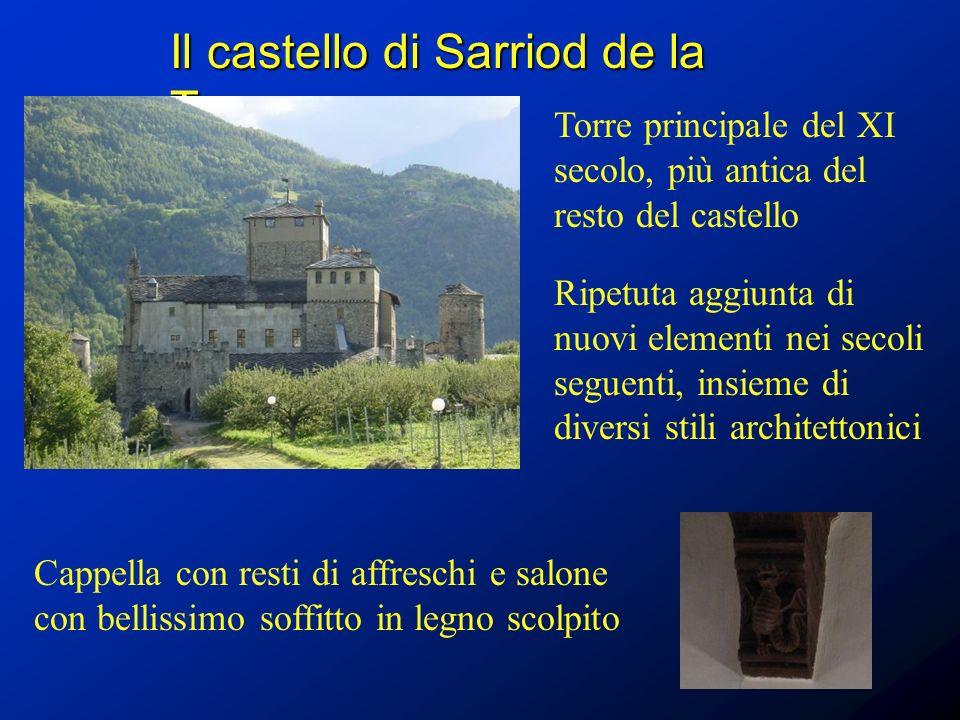 Il castello di Sarriod de la Tour