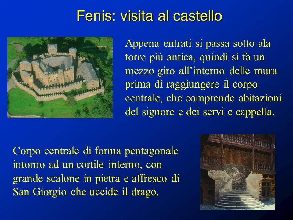 Fenis: visita al castello