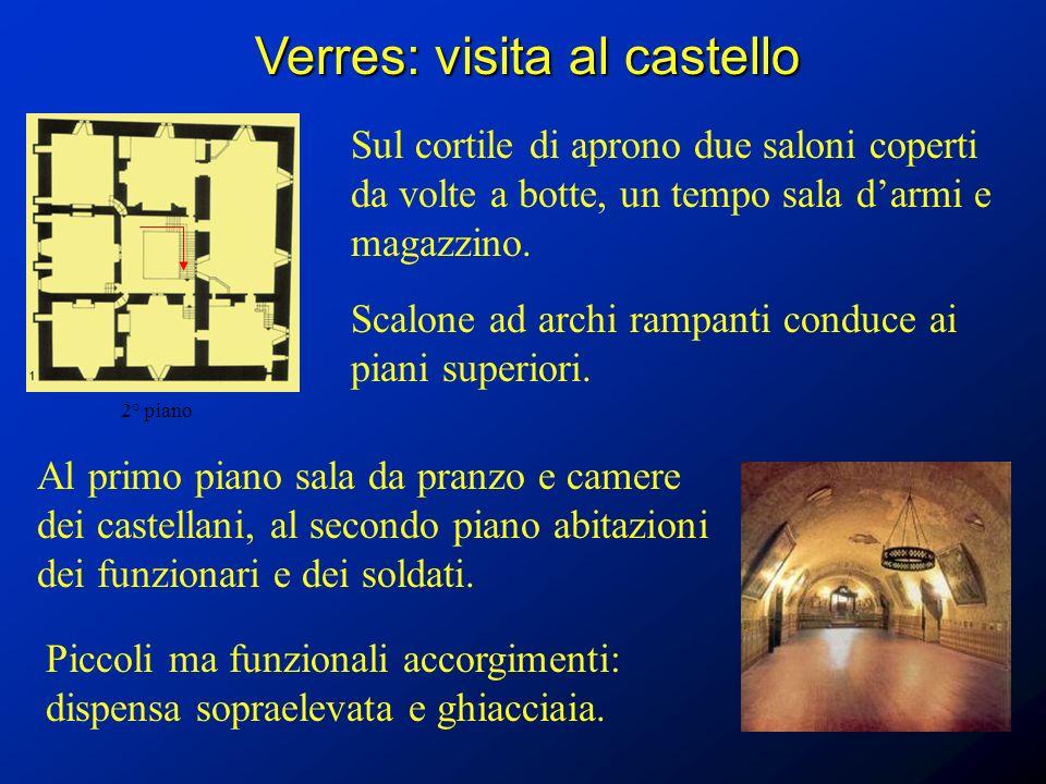 Verres: visita al castello