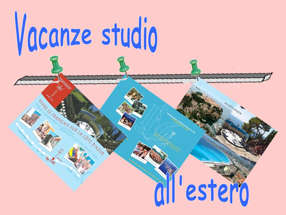 Vacanze studio all estero