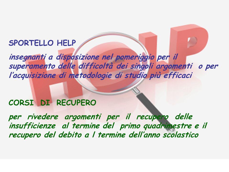 SPORTELLO HELP