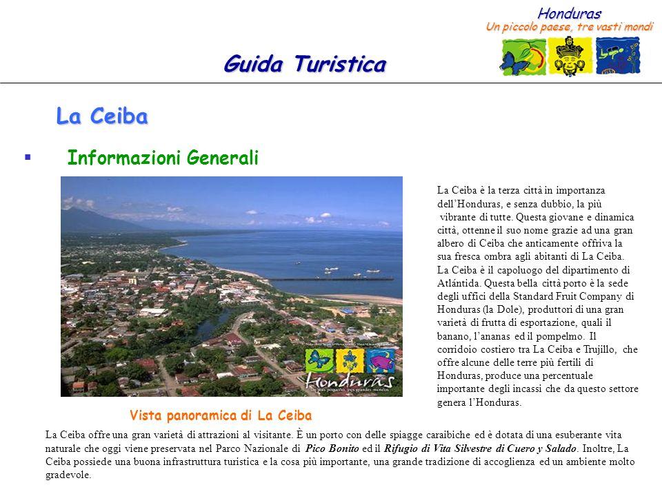 Vista panoramica di La Ceiba