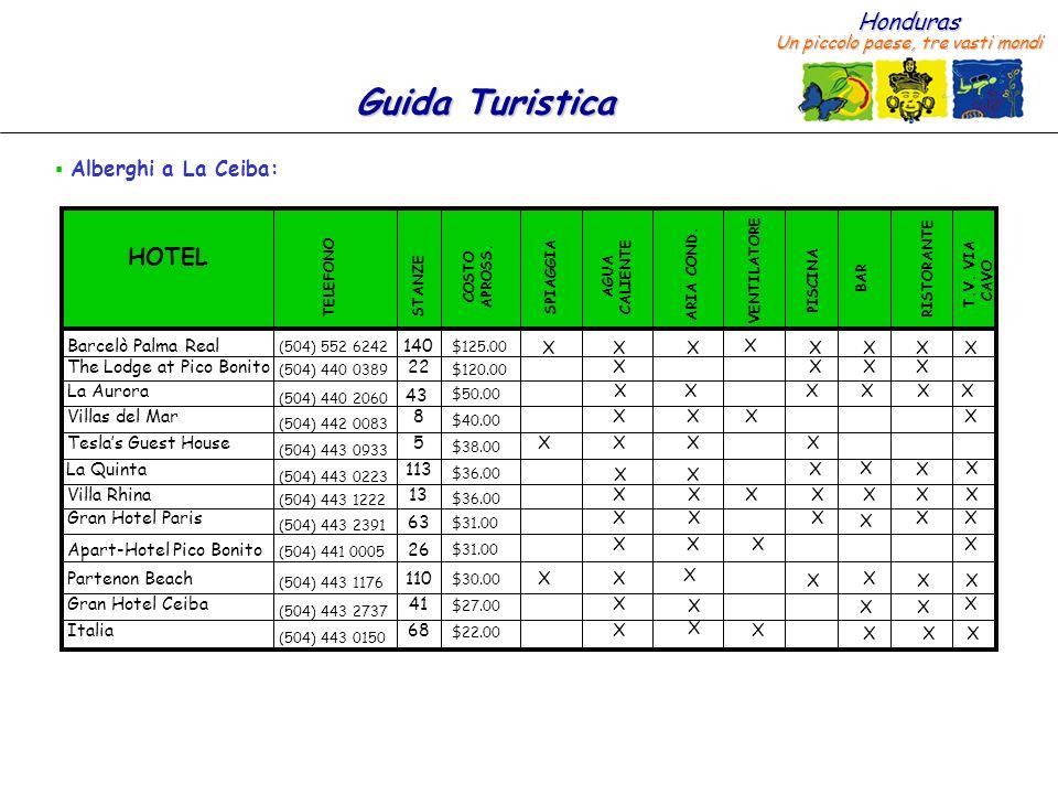 HOTEL Alberghi a La Ceiba: Barcelò Palma Real 140 X X X X X X X X