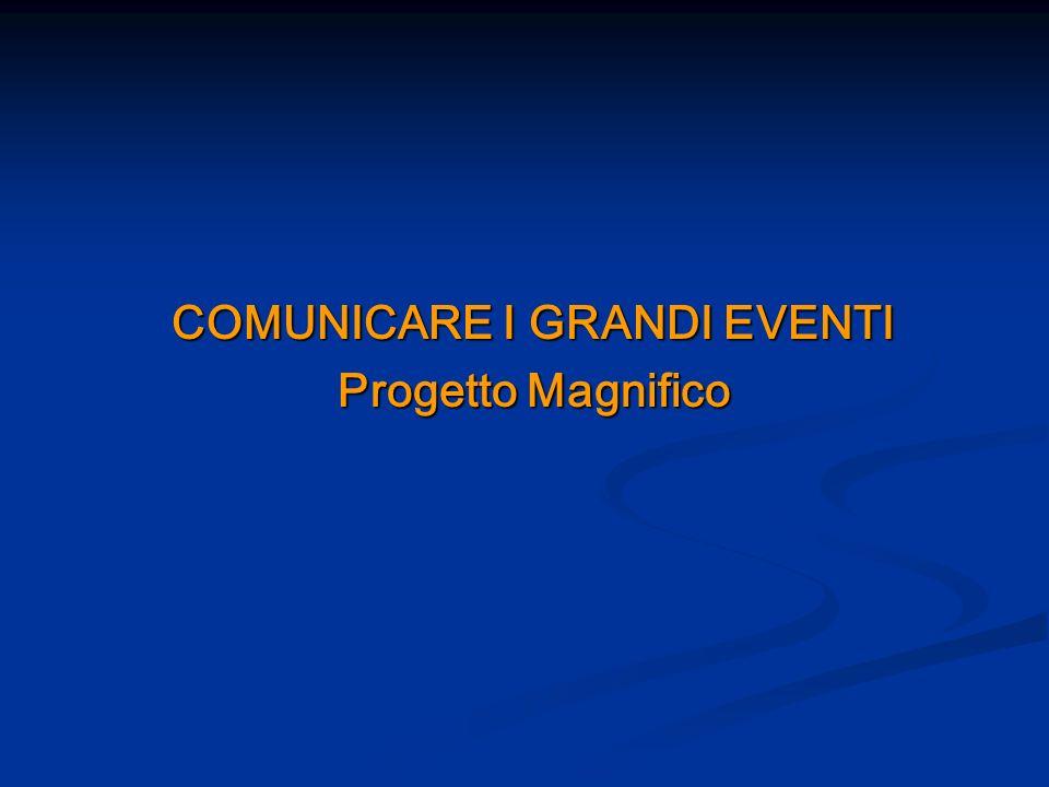 COMUNICARE I GRANDI EVENTI