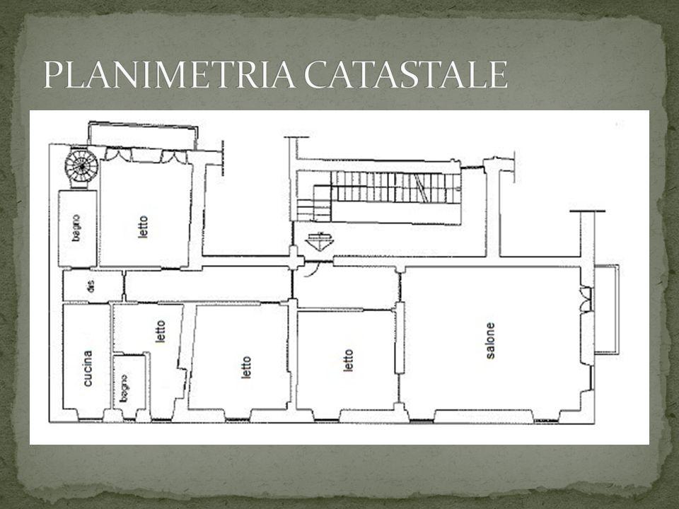 PLANIMETRIA CATASTALE
