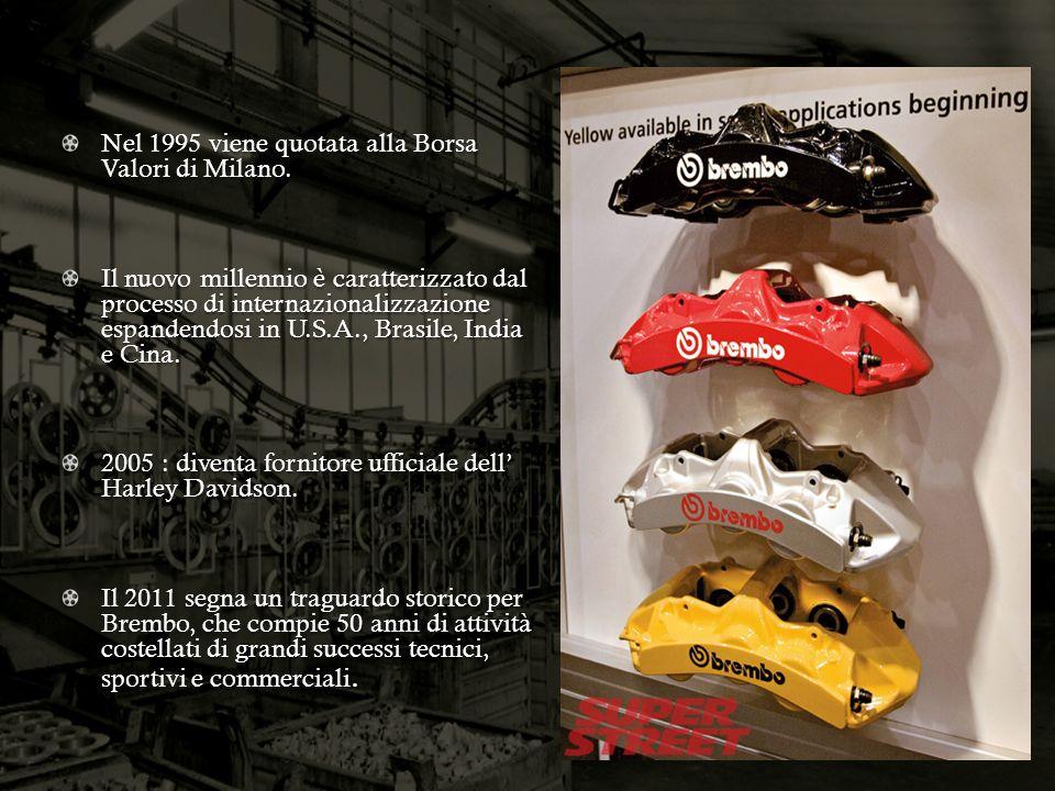 Nel 1995 viene quotata alla Borsa Valori di Milano.
