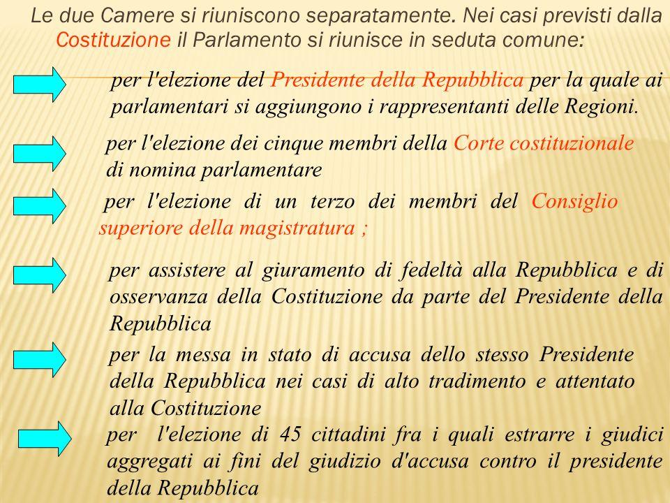 L ordinamento costituzionale dello stato ppt video for Le due camere del parlamento