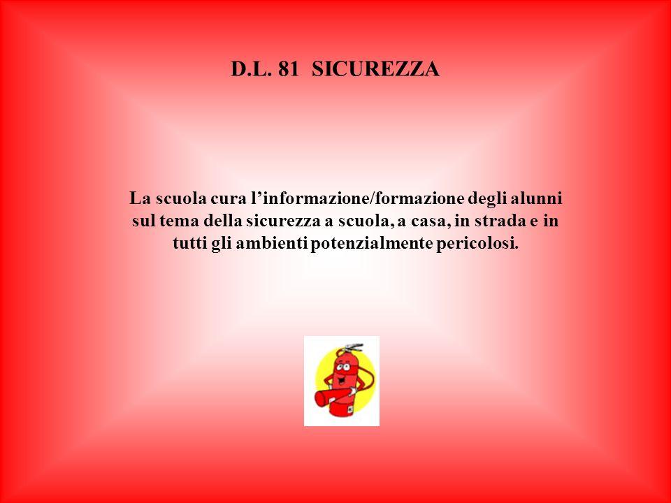 D.L. 81 SICUREZZA