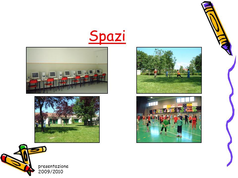 Spazi presentazione 2009/2010