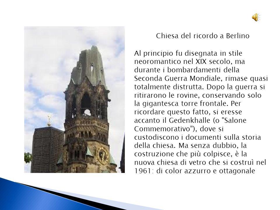 Chiesa del ricordo a Berlino