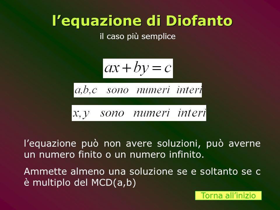 l'equazione di Diofanto