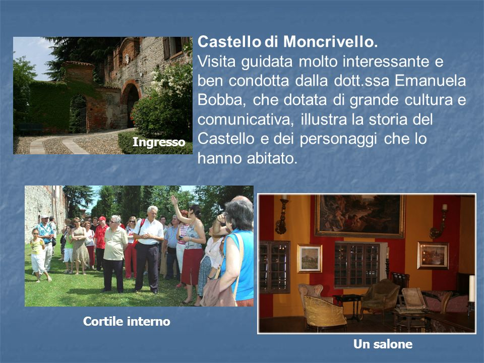 Castello di Moncrivello.