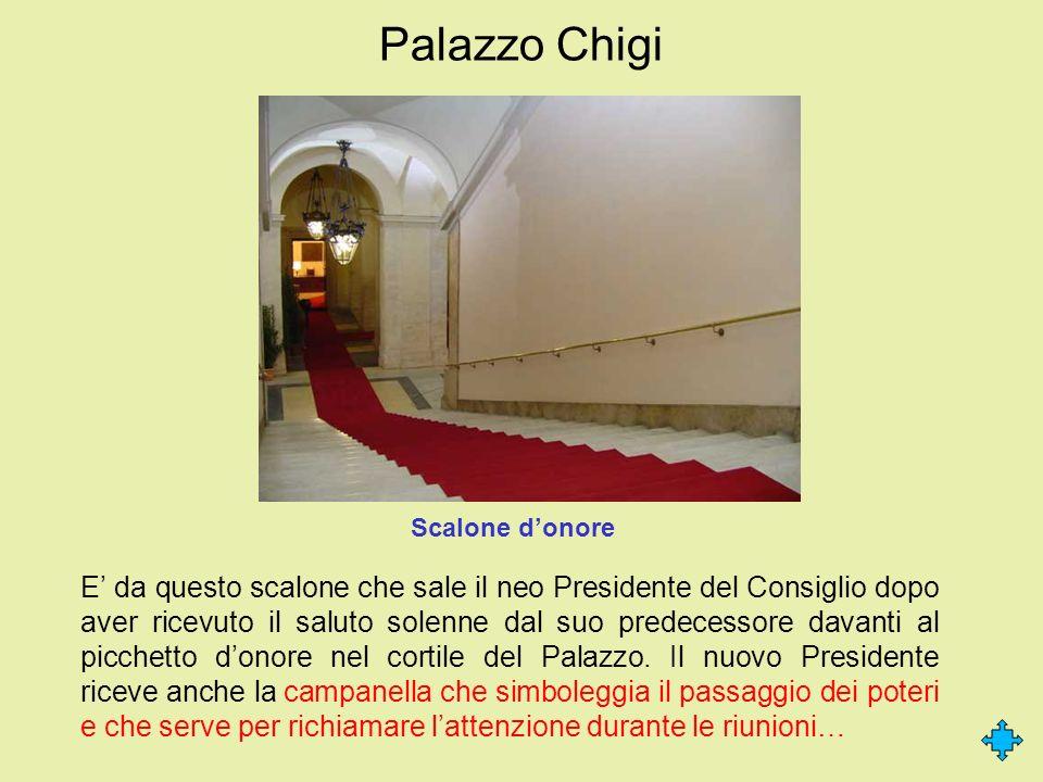 Palazzo Chigi Scalone d'onore.