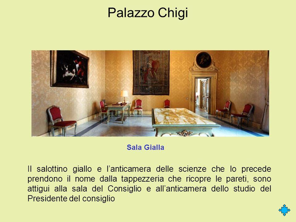 Palazzo Chigi Sala Gialla.