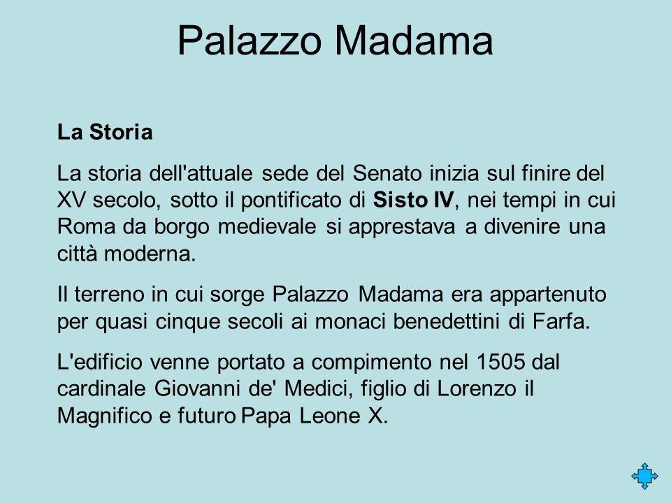 Palazzo Madama La Storia