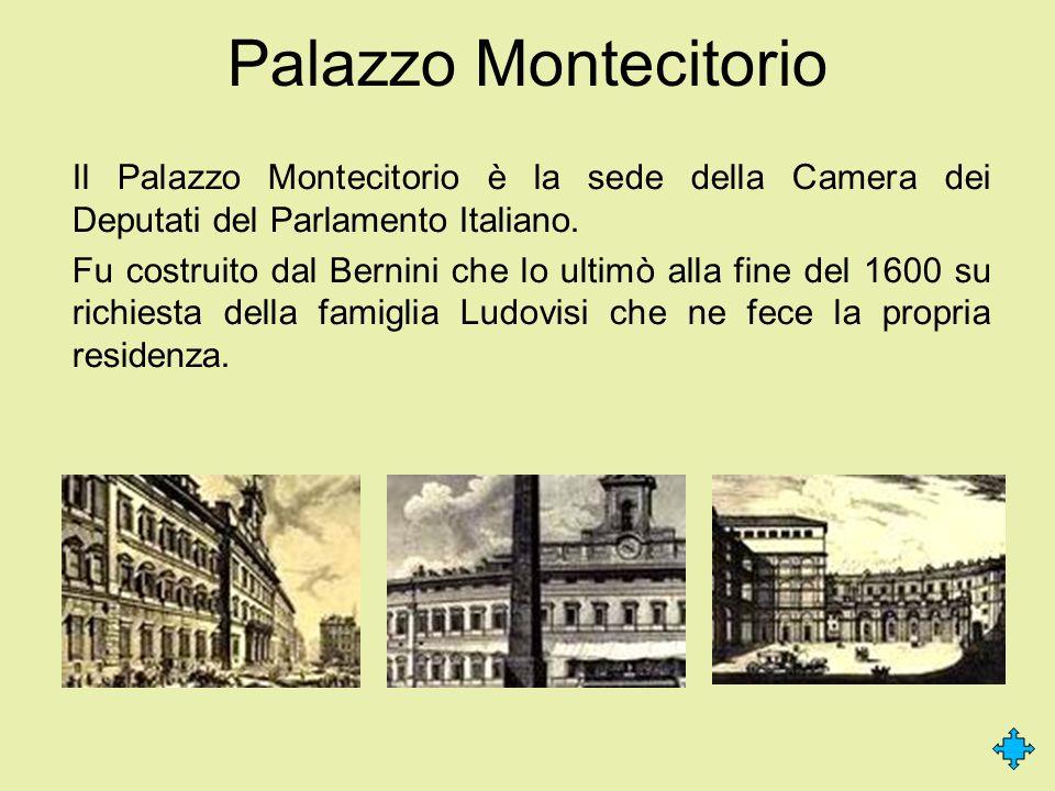 I palazzi del potere palazzo madama palazzo montecitorio for Camera dei deputati on line