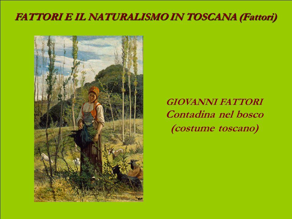 Contadina nel bosco (costume toscano)