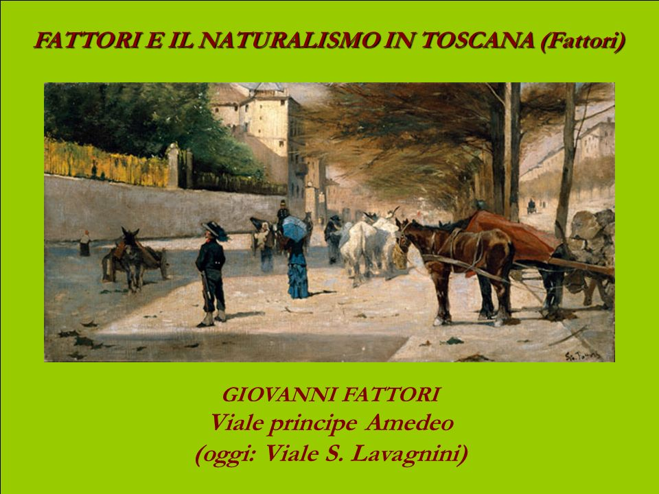 (oggi: Viale S. Lavagnini)