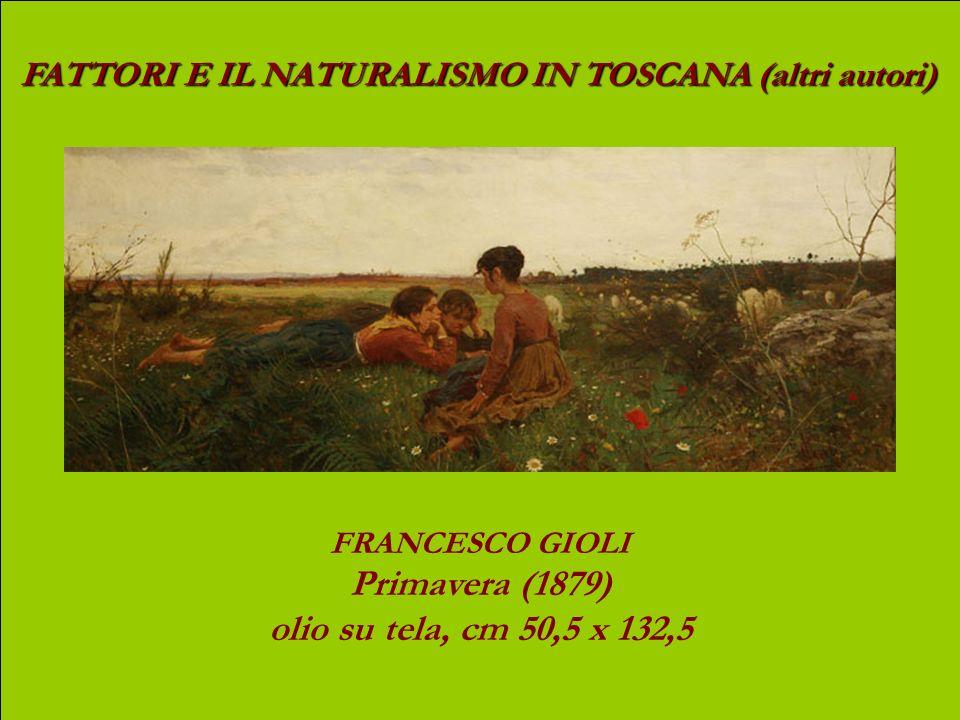 Primavera (1879) olio su tela, cm 50,5 x 132,5