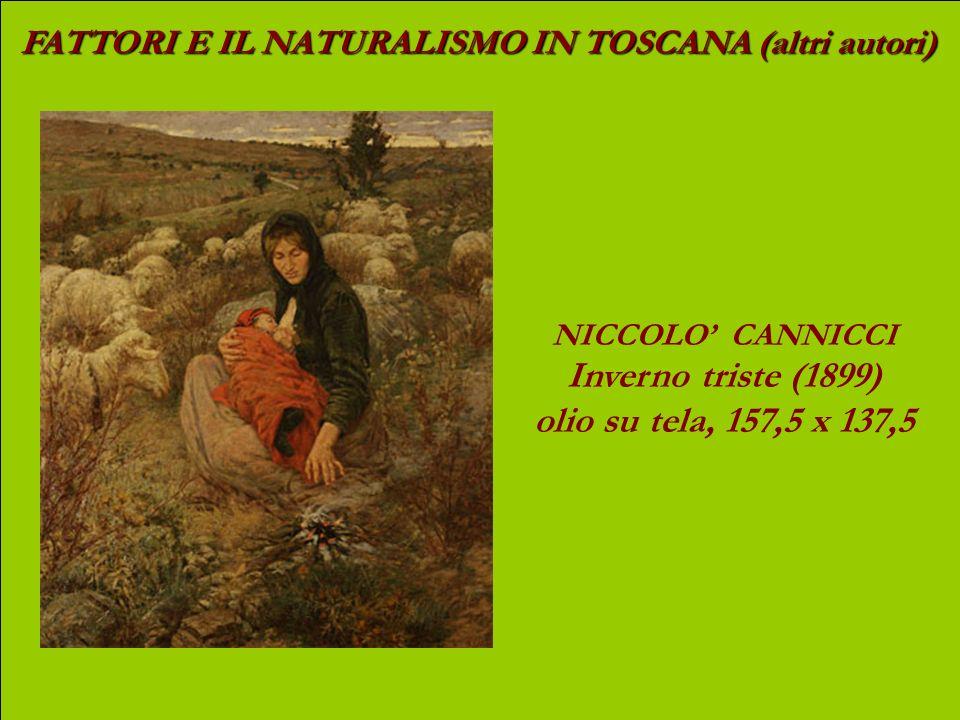 Inverno triste (1899) olio su tela, 157,5 x 137,5