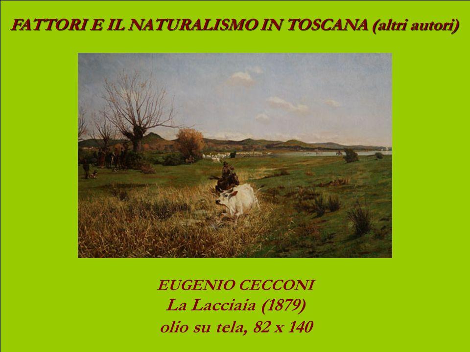 La Lacciaia (1879) olio su tela, 82 x 140