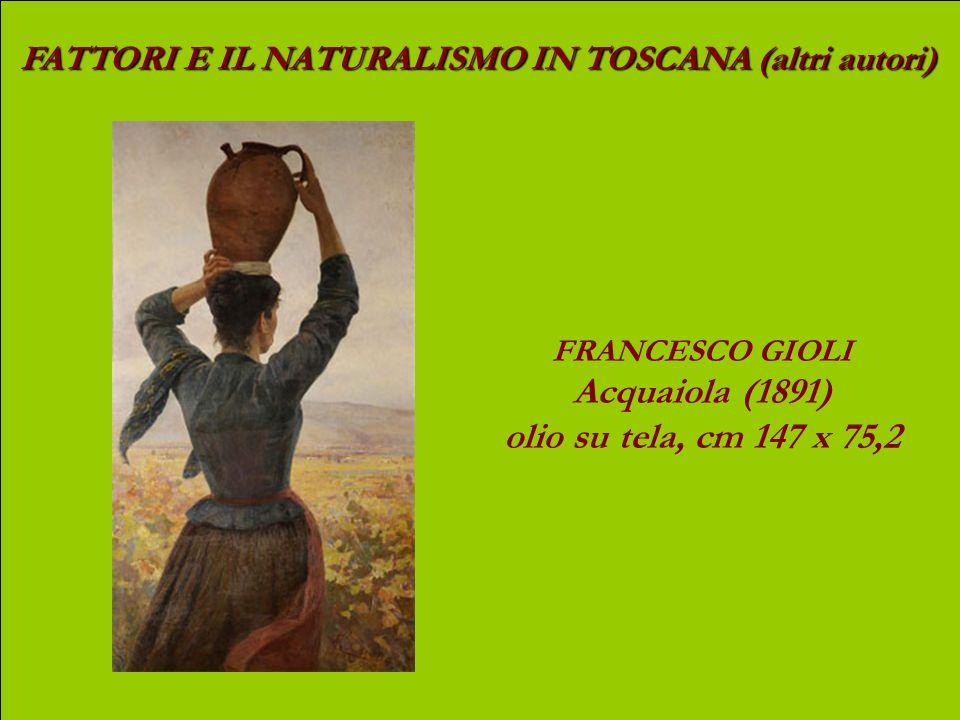 Acquaiola (1891) olio su tela, cm 147 x 75,2