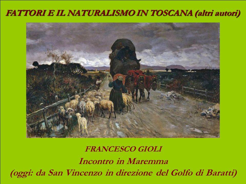 (oggi: da San Vincenzo in direzione del Golfo di Baratti)