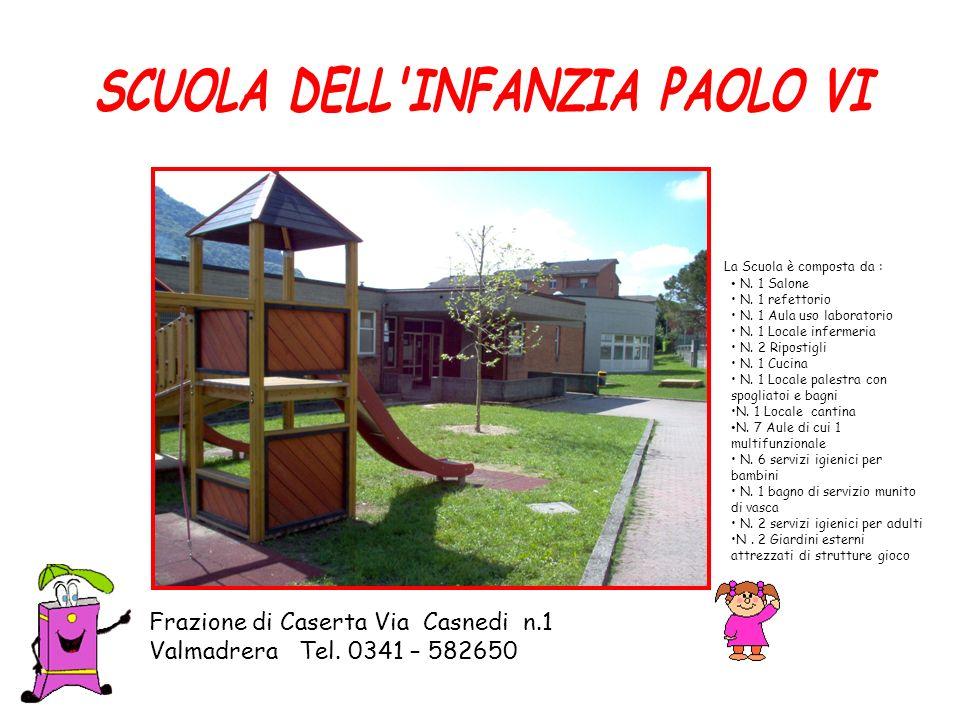 SCUOLA DELL INFANZIA PAOLO VI