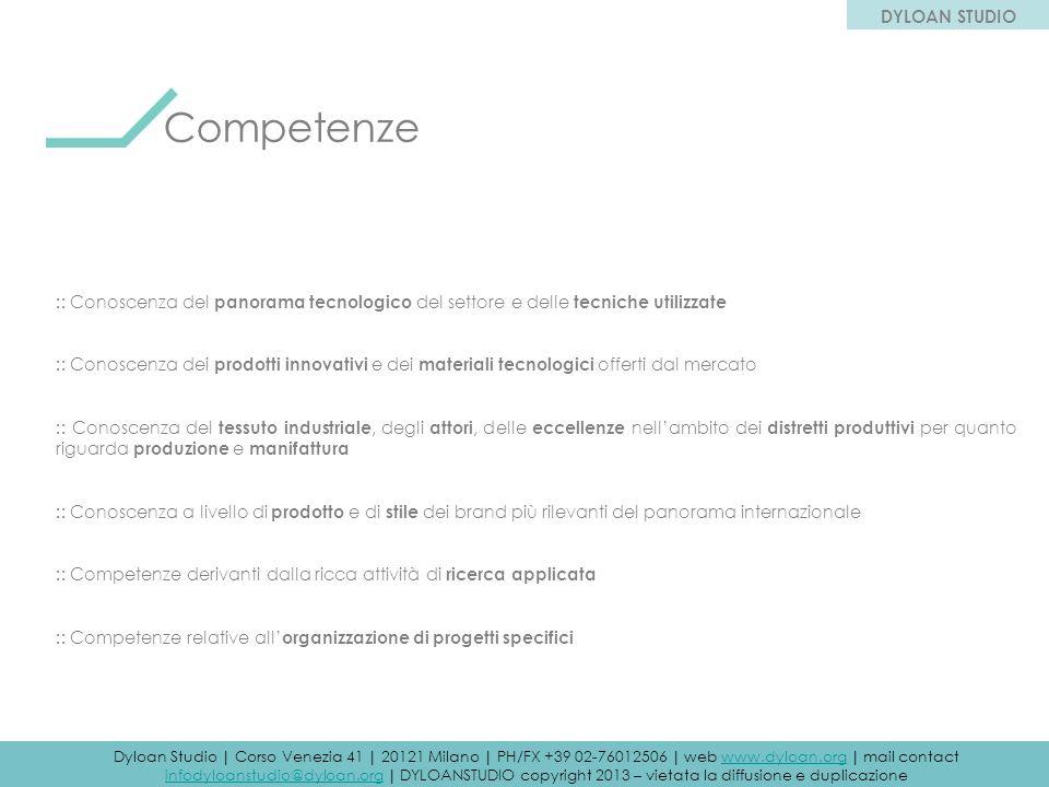Competenze DYLOAN STUDIO