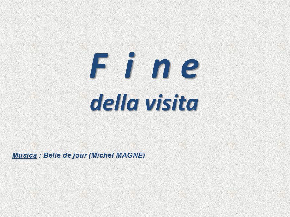 F i n e della visita Musica : Belle de jour (Michel MAGNE)