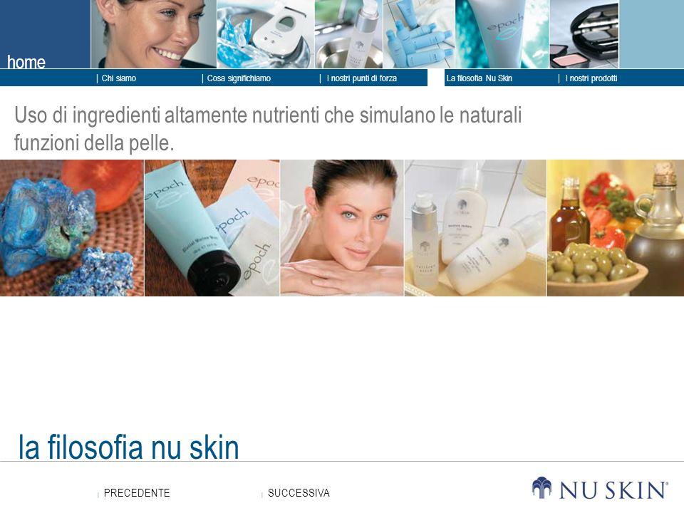 Uso di ingredienti altamente nutrienti che simulano le naturali funzioni della pelle.