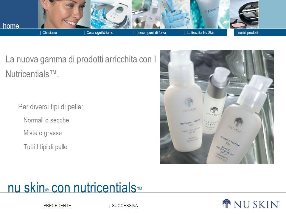 nu skin® con nutricentials™