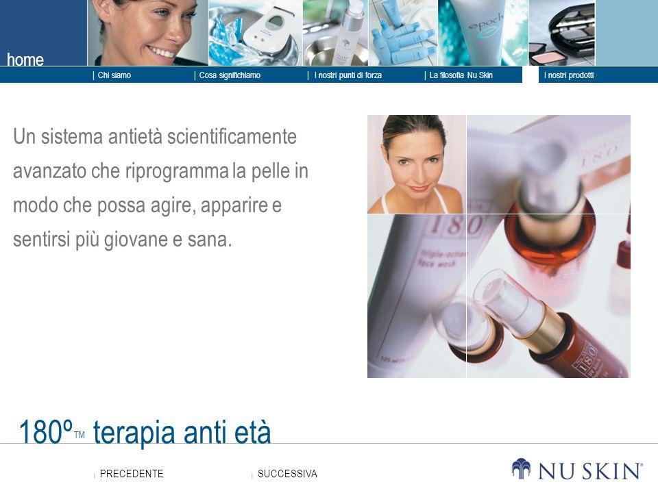 Un sistema antietà scientificamente avanzato che riprogramma la pelle in modo che possa agire, apparire e sentirsi più giovane e sana.
