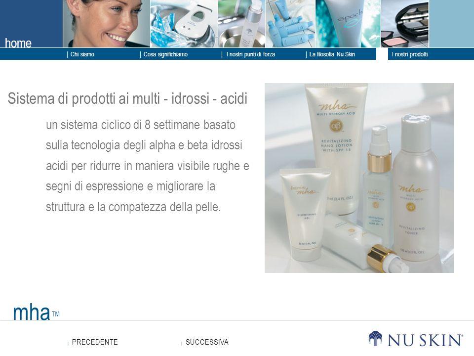 mha™ Sistema di prodotti ai multi - idrossi - acidi
