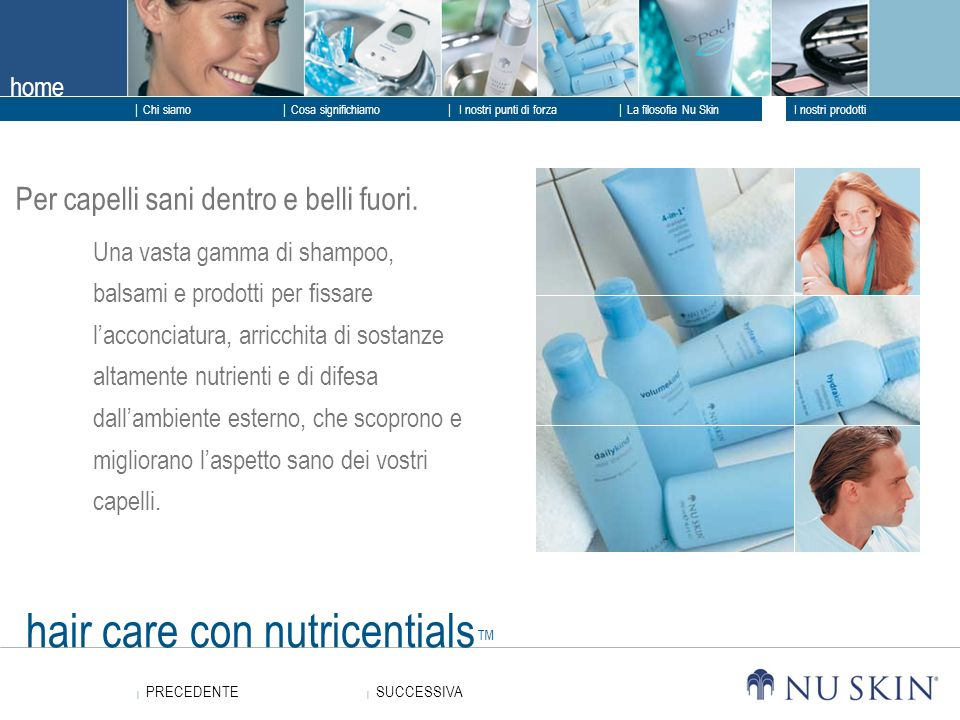 hair care con nutricentials™