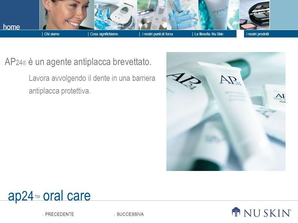 ap24™ oral care AP24® è un agente antiplacca brevettato.