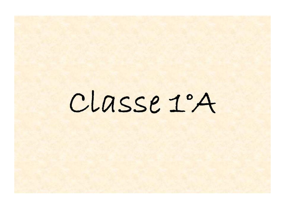 Classe 1°A