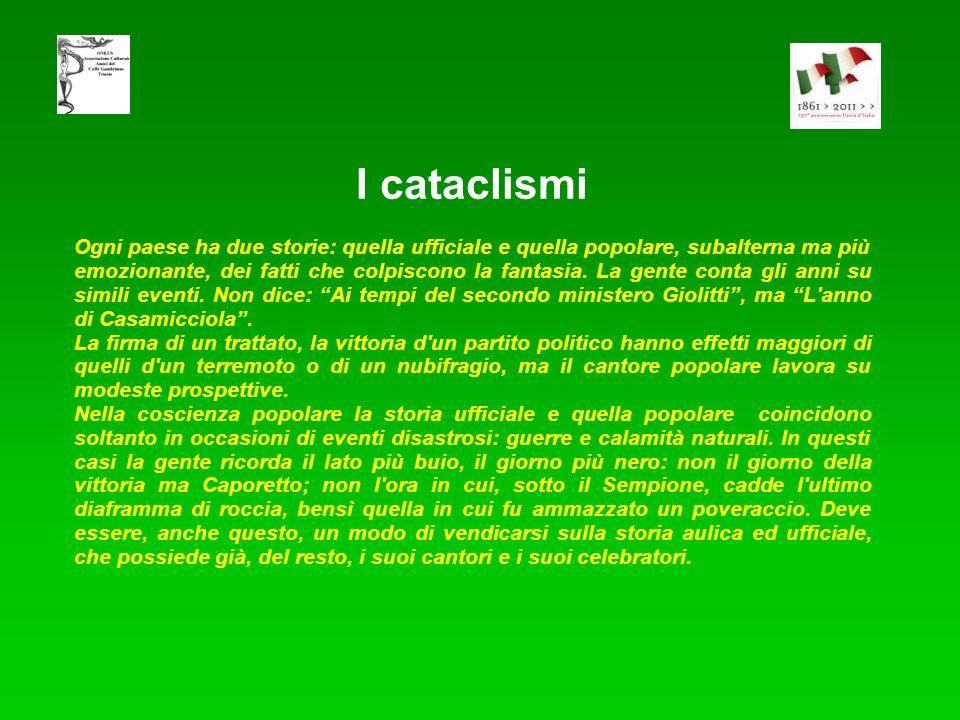 I cataclismi