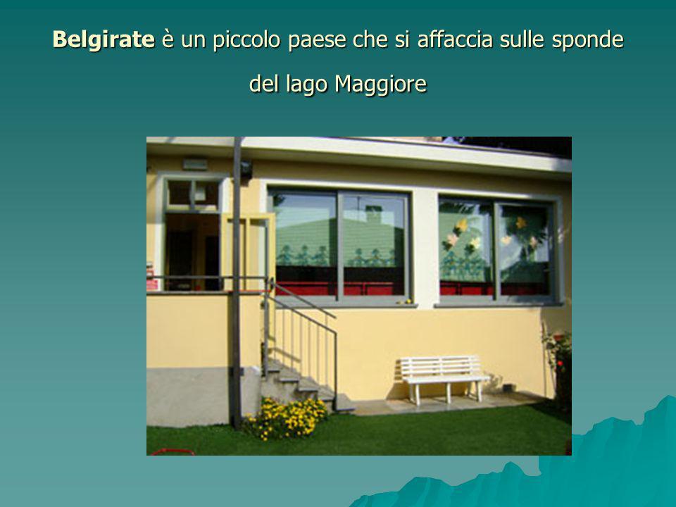 Belgirate è un piccolo paese che si affaccia sulle sponde del lago Maggiore