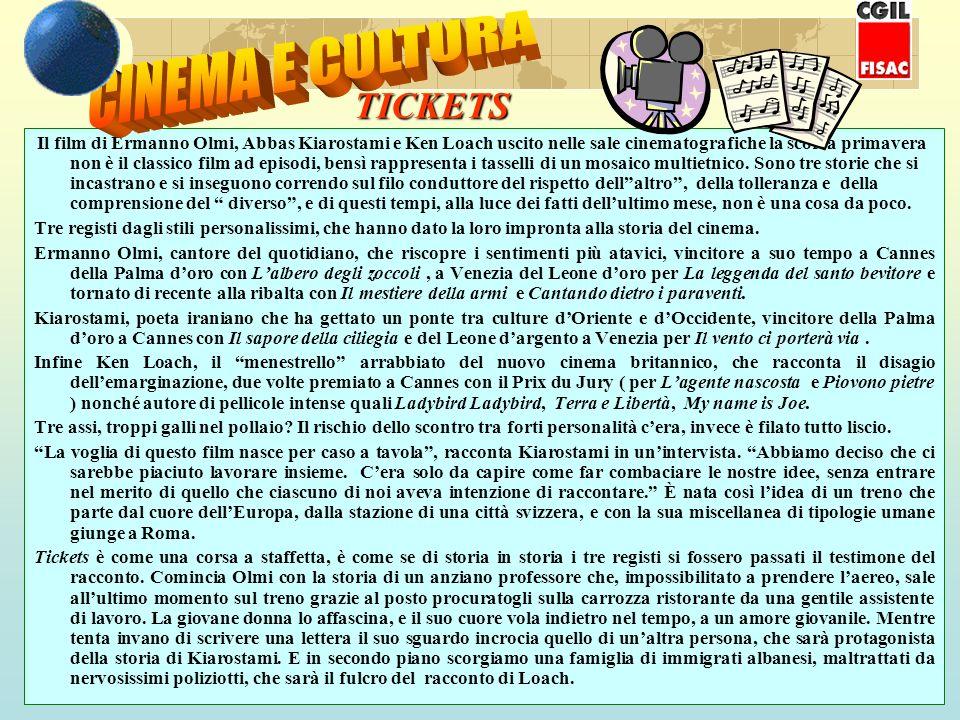 CINEMA E CULTURA TICKETS