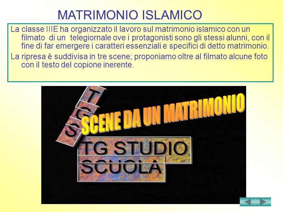 SCENE DA UN MATRIMONIO MATRIMONIO ISLAMICO
