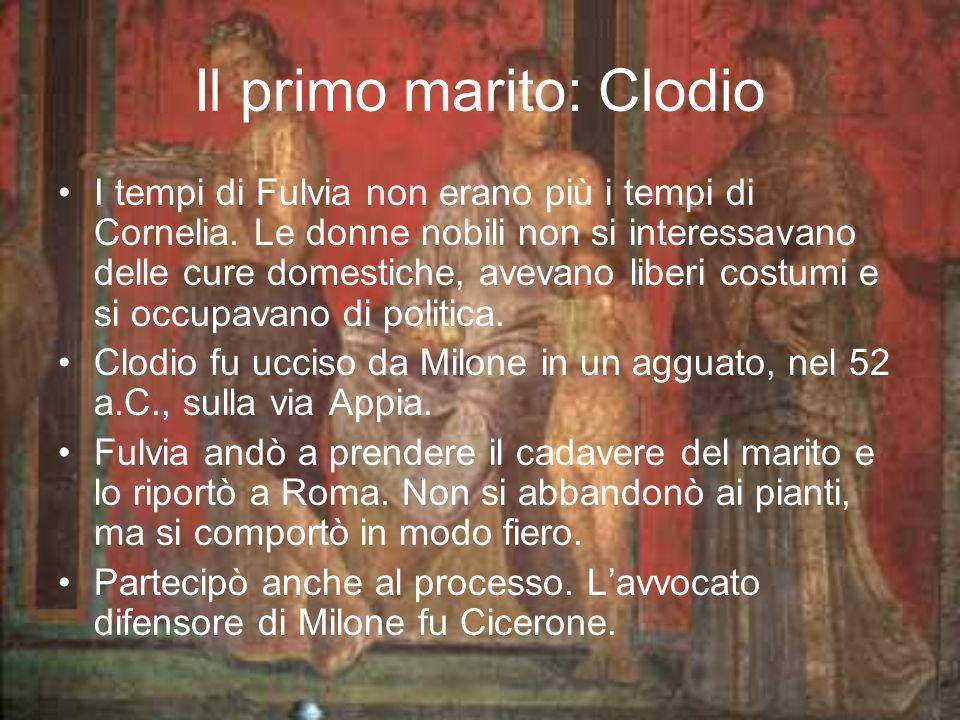 Il primo marito: Clodio