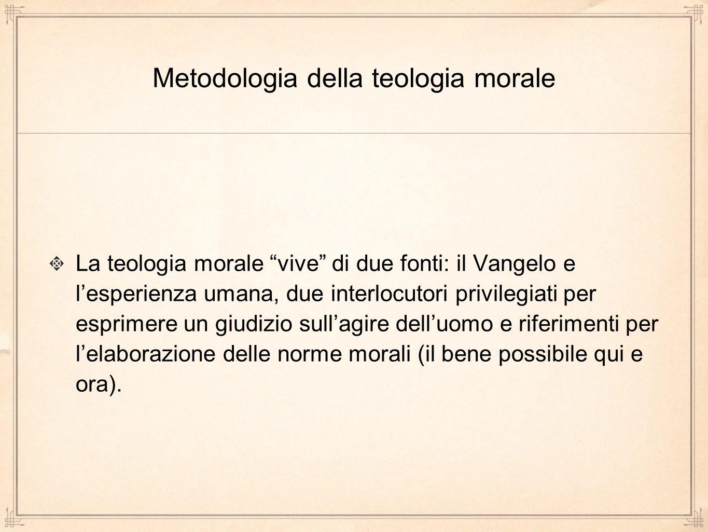 Metodologia della teologia morale