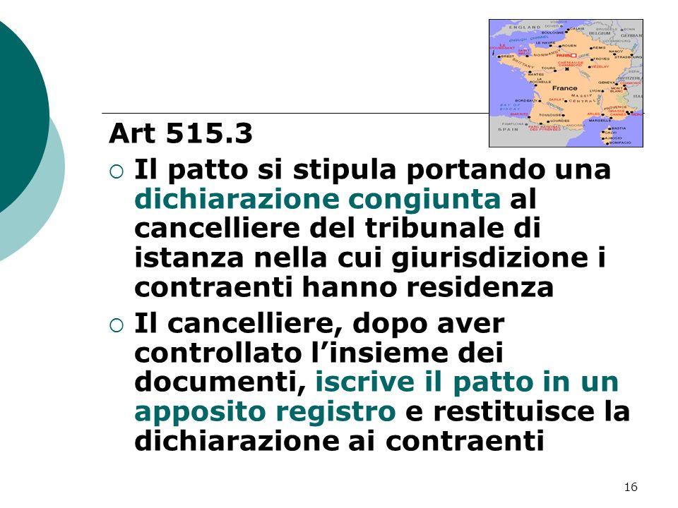 Art 515.3