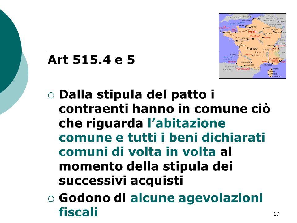 Art 515.4 e 5