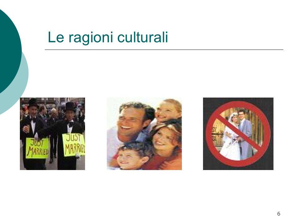 Le ragioni culturali
