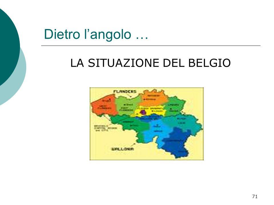 LA SITUAZIONE DEL BELGIO