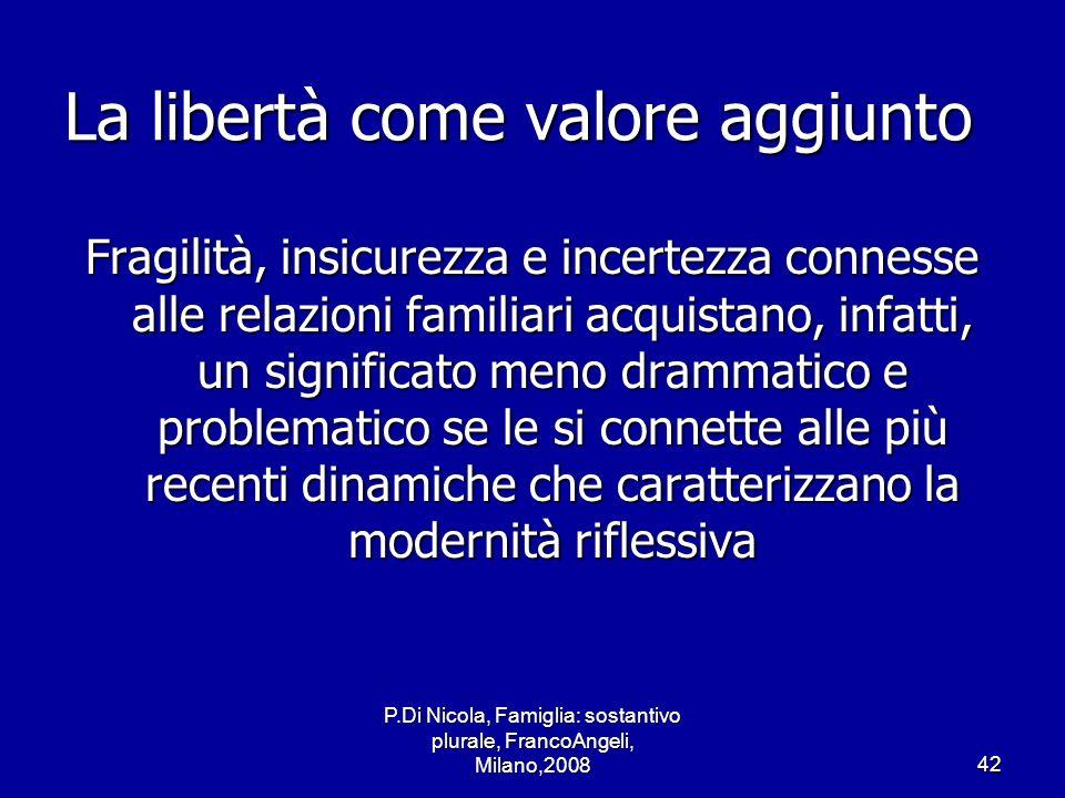 La libertà come valore aggiunto